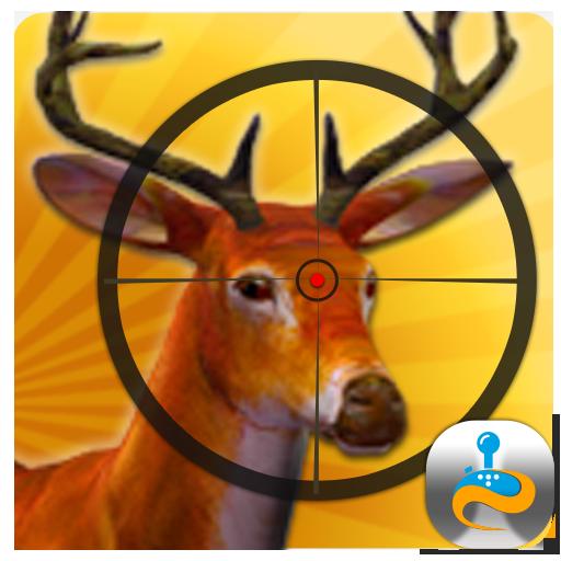 鹿狩獵狙擊手射擊 動作 LOGO-玩APPs