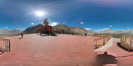 Photo: Buddha Statue, Dikshit Gompa, Nubra Valley, Ladakh