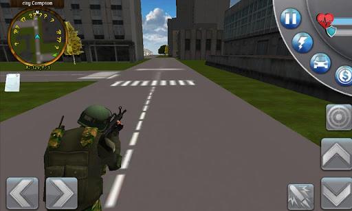 Police Soldier Crime Stopper