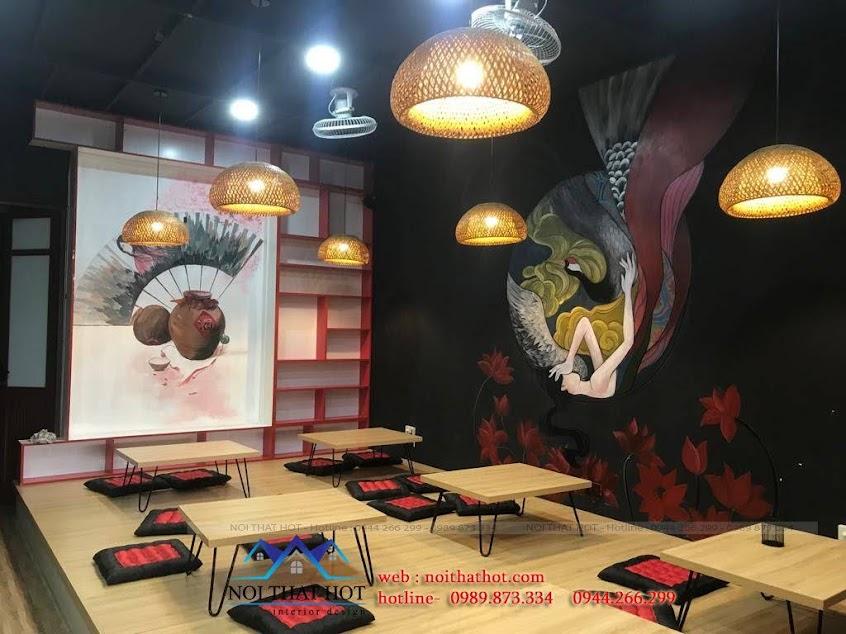 trang trí quán cafe ấn tượng