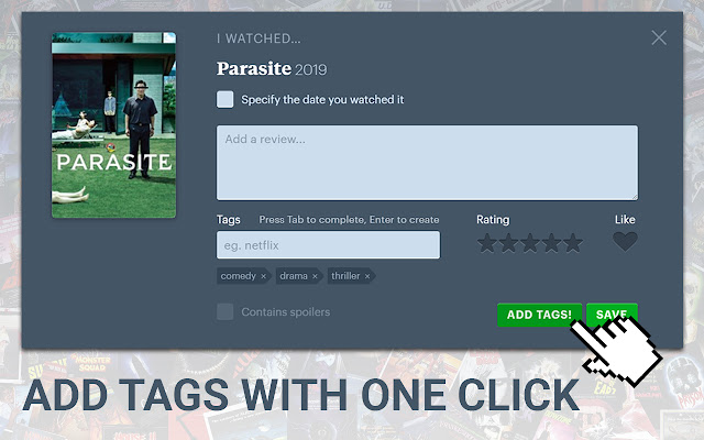 Tagger for Letterboxd