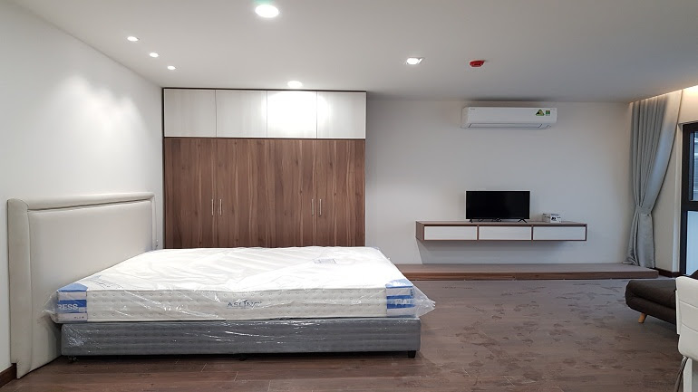 Budget nice studio apartment in Au Co street, Tay Ho district for rent