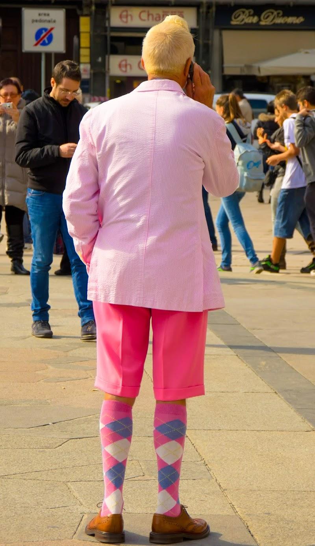 Pink man... di Gian Piero Bacchetta