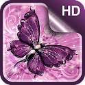 Butterfly Live Wallpaper HD icon