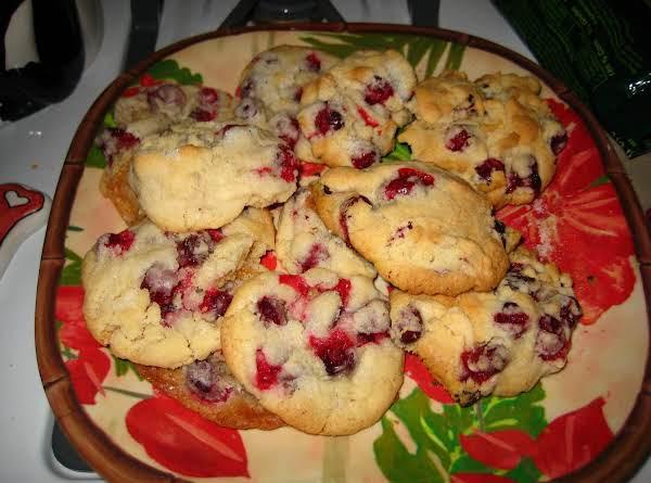 Cranberry Butter Clusters  Mmmmm Boy!