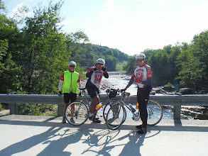 Photo: Day 53 August 10 Bennington To Brattleboro VT: Most of the roads in VT and NH follow a river