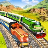 Modern Pak vs Indian Train Race: Azadi Train Game
