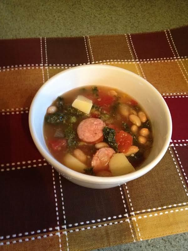Sausage And Kale Soup...