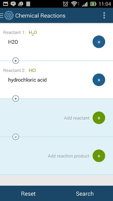 Chemical Reactions - screenshot