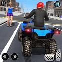 ATV Quad Bike Simulator 2018: Bike Taxi Games icon