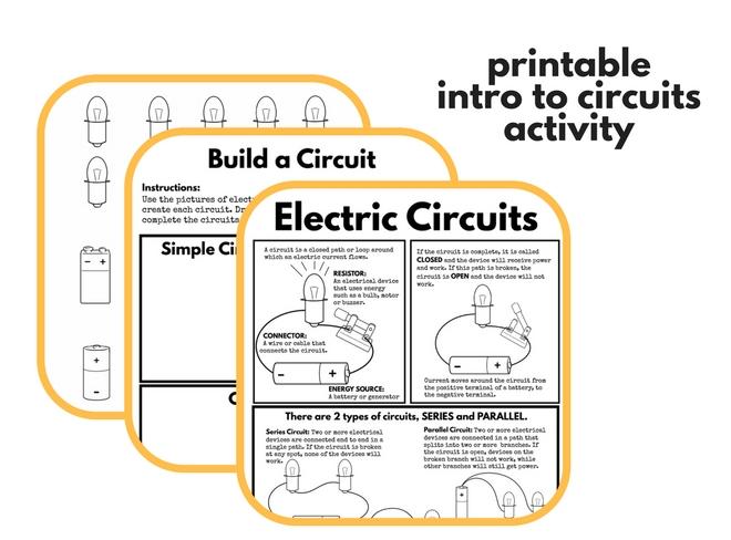circuit activities for kids. Black Bedroom Furniture Sets. Home Design Ideas