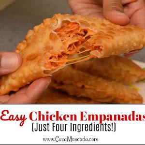 Easy Chicken Empanadas (Just Four Ingredients!)