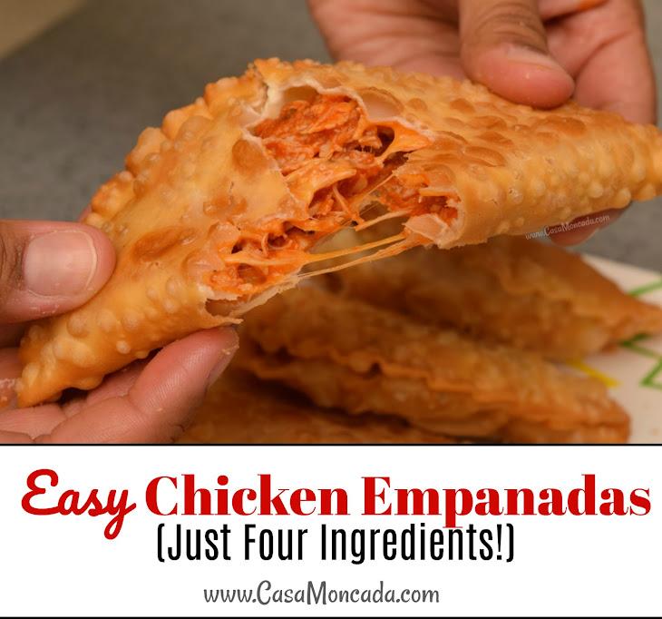 Easy Chicken Empanadas (Just Four Ingredients!) Recipe