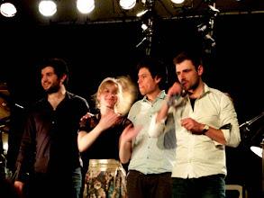 Photo: Nora Kamm : saxophone Marc Michel : batterie Thibaud Saby : piano Yann Phayphet : basse