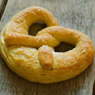 Healthy Low Carb and Gluten Free Soft Pretzels.
