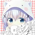 kawaii Anime & Manga - Color by Number icon