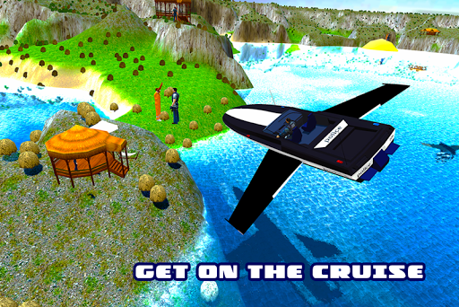 警方飞行模拟器船