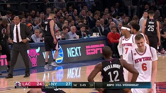 L.A. Clippers at New York Knicks from 02/08/2017