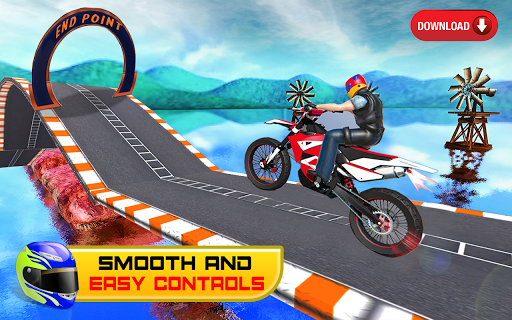 Bike Stunt Racing 3D - Free Games 2020 1.1 screenshots 5