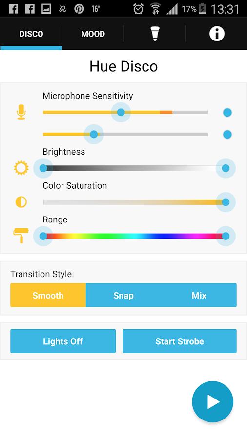 Hue Disco- screenshot