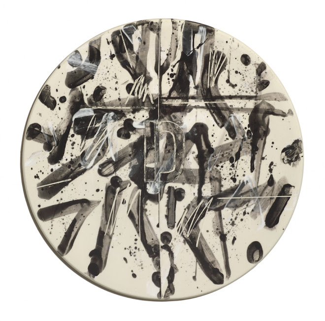 "<p> <strong>Study for Splendide-Hôtel D</strong><br /> Ceramic plate<br /> 13 ¼"" x 13 ¼""<br /> 2018</p>"