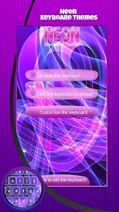 Klávesové Témata Neon - náhled