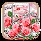 Pink Roses Romantic Diamond Theme (app)