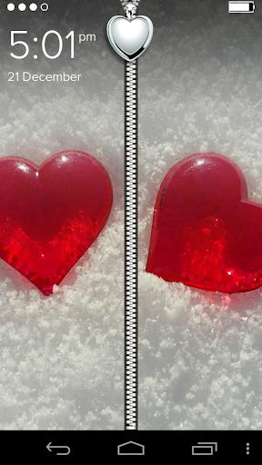 Cool Love Hearts ZipLock