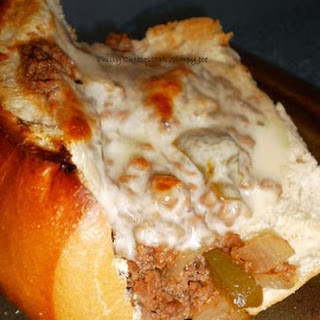 Philly Cheese-steak Sloppy Joes.