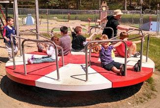 Photo: Playground Spinner