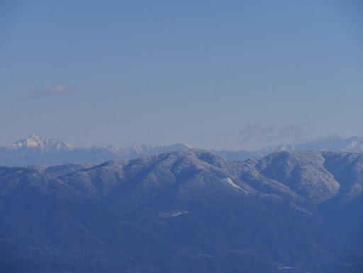 南アルプス(塩見岳から悪沢岳)