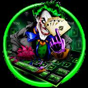 Devil Green Clown Keyboard