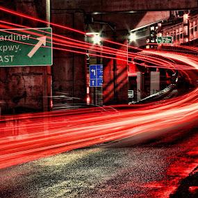 by Andy Barrow - City,  Street & Park  Street Scenes