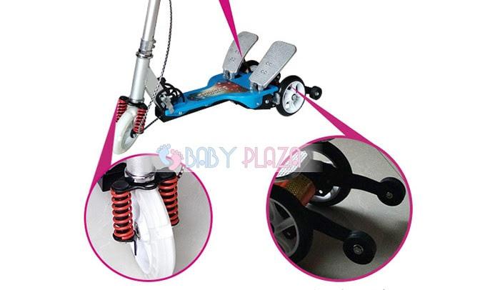 Xe trượt scooter có bàn đạp cho bé Q8 8