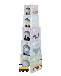 Stacking cubes vehicles 1-5