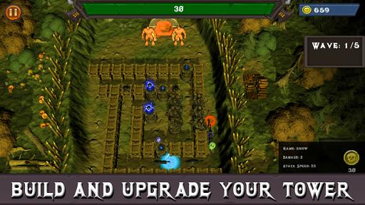 Fantasy Defense: Art of War Offline Defense screenshots 2
