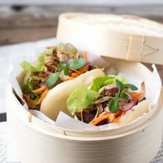 Pulled Pork Bao Bun.