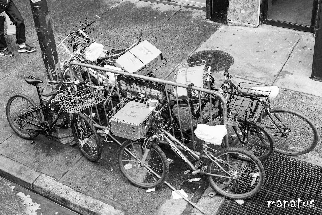 bicicletas en la calle