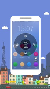 Touch Weather: Small & Smart screenshot 2