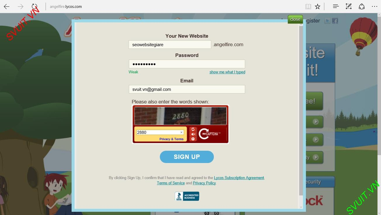 Backlink on angelfire.com (3)