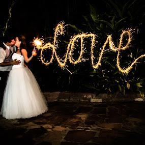 by Sarah King - Wedding Bride & Groom ( wedding,  )