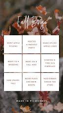 Fall Bingo - Instagram Bingo  item