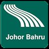 Mappa di Johor Bahru offline