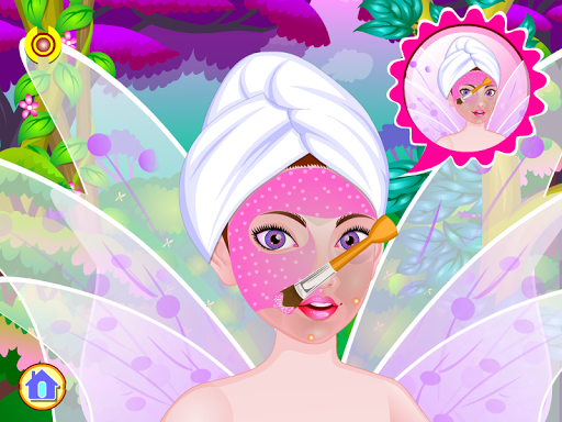 Beautiful fairy wedding games