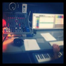 Photo: at the record studio - Paris