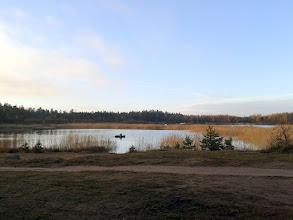 Photo: Озеро. Начало похода
