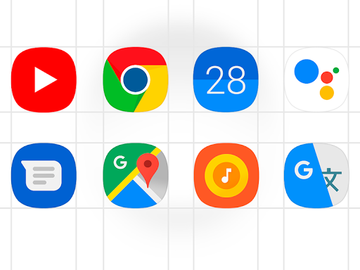 One UI - icon pack 1.0.7 Screenshots 2