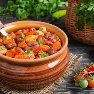 Stewed Chicken With Red Beans