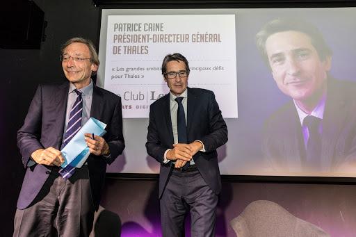 Club Les Echos Débats avec Patrice CAINE