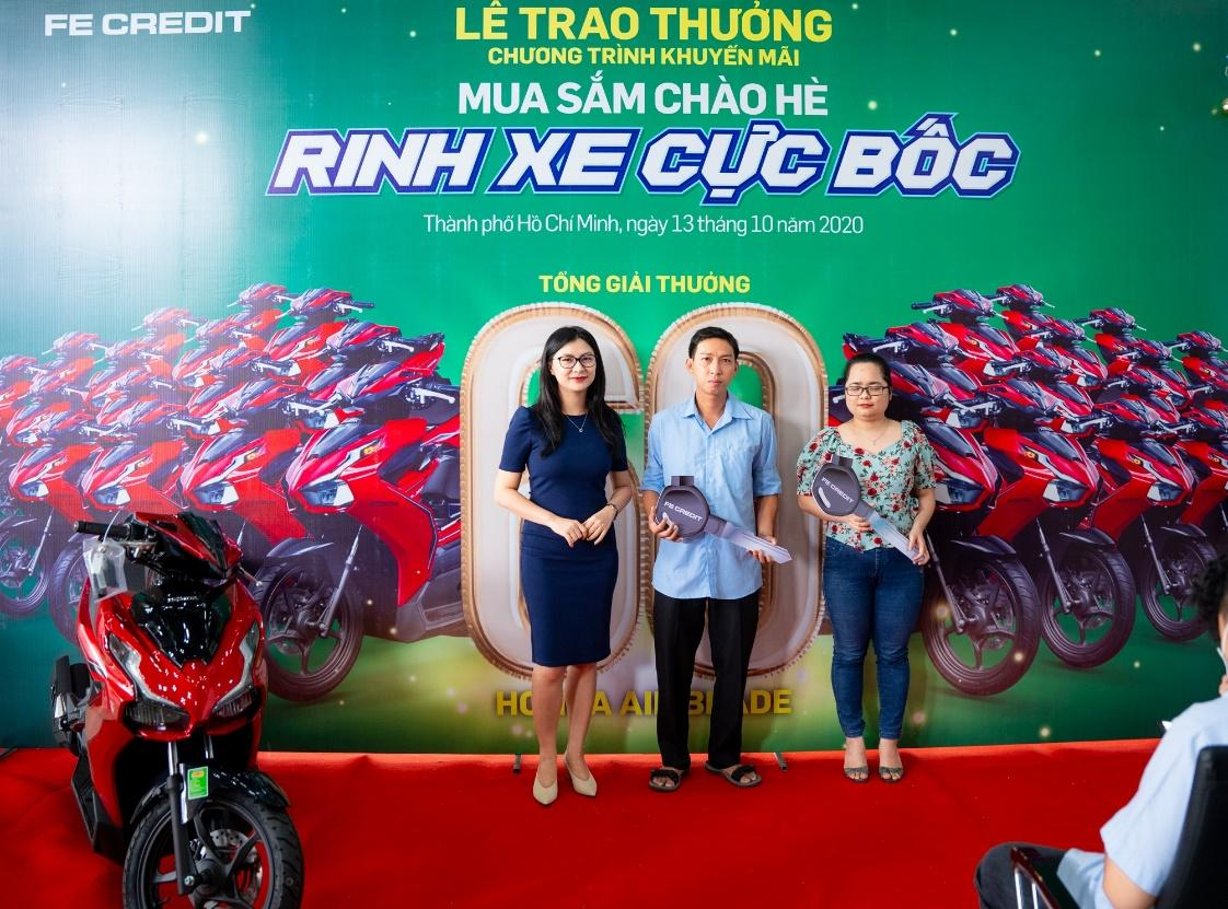 """FE CREDIT tổ chức Lễ trao giải thưởng chương trình """"Mua sắm chào hè, Rinh xe cực bốc"""" tại TPHCM - Ảnh 2"""